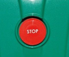 Push stop button